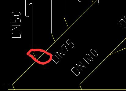 常州 朝阳区 西安工程相关问题,河北地区,河北工程相关问题,河北-赵壮壮问:排水的一小块水平管是DN75还是DN50?